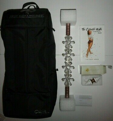 NEW Ashley Black BACKPACK + PARTY FASCIA Blaster + NUGGET + Cellulite Myth BOOK