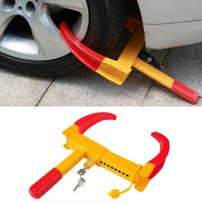 Car Van Caravan Trailer Motorhome Fit Claw Steel Wheel Tyre Clamp Security FY