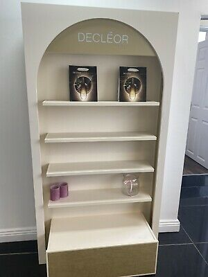 Decleor Retail Display Stand Illuminated Large Drawer At Bottom