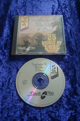 Cd.dedicated To The One I Love.25 Love Songs.various Artists.tring.cd Release