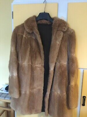Vintage Real Fur Coat, Great Condition 12/14