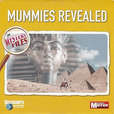 The Mystery Files MUMMIES REVEALED ( Daily Mirror Promo DVD ) Discovery Channel
