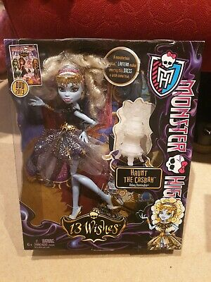 Monster High 13 Wishes Abbey Doll