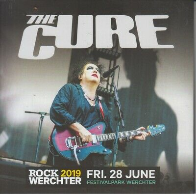 """THE CURE """" SUMMER FESTIVAL Tour 2019, 2 CD'S DIGIPACK """""""