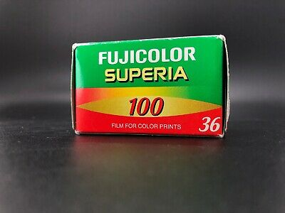 Fujicolor 100 Superia 100 35mm Film Expired 2004 24x36mm 36exp - As Is