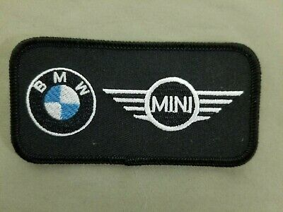 BMW Embroidered Iron On Automotive Patch.