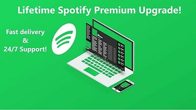 Spotify Premium Lifetime Upgrade To 12 Months Fast Delivery✅ BEST PRICE🔥