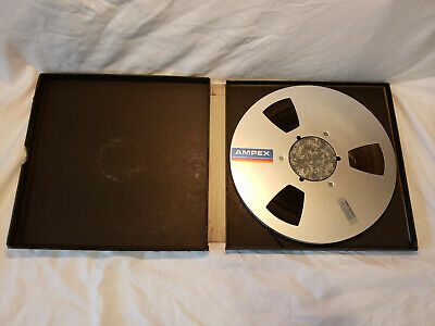 Pre-recorded Ampex 456 Grand Master Studio Mastering Audio Tape
