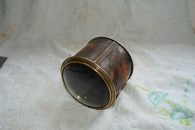 antique french drum clock case