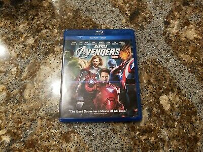 The Avengers Marvel -- Blu-ray Disc