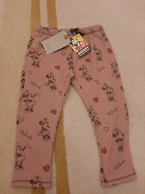 BNWT Zara Minnie Mouse Age 3-4 Pants Trousers