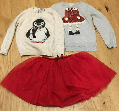 Girls Age 4/5 Years Christmas Clothes Bundle