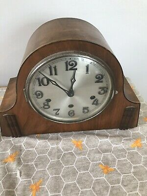 Art Deco Haller German Mantle Clock/ Old Clock