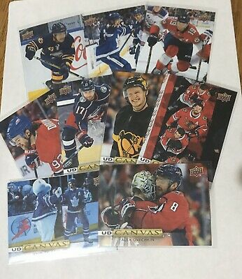 2019-20 Upper Deck Nhl  Series One  Ud Canvas N' Young Guns Canvas U Pick