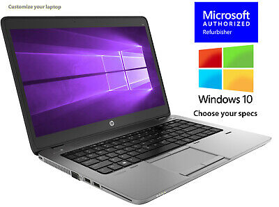 HP LAPTOP ELITEBOOK 840G1 CORE i5 16GB 512GB SSD HD WINDOWS 10 PRO WiFi NOTEBOOK
