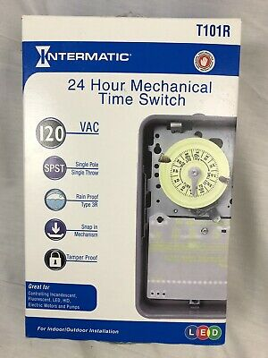 Intermatic  Outdoor  Mechanical Timer Switch  125 volt Gray