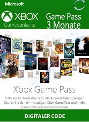Xbox Game Pass Ultimate - 3 Monate - Xbox One & Windows 10 + Live Gold