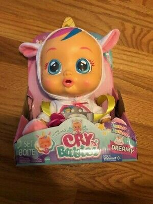 Baby WOW IMC Cry Babies Doll Dreamy  The Unicorn Baby New 2019 Cry's Real Tears