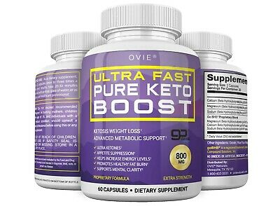 Ovie Ultra Fast Pure Keto Boost Ketosis Weight Loss Advanced Metabolic Support