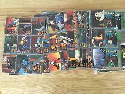 THE ADVENTURES OF BATMAN & ROBIN TRADING CARDS COMPLETE SET Issued YEAR 1995