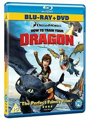 How To Train Your Dragon - Double Play (Blu-ray + DVD), Very Good DVD, ,