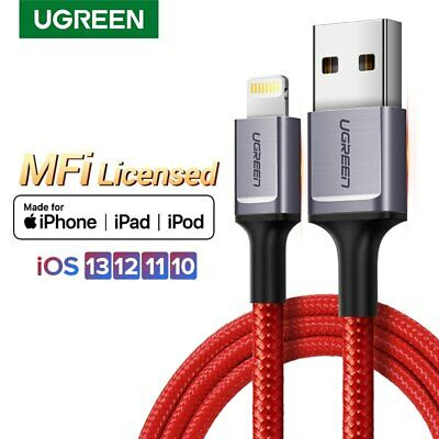 Ugreen High Quality MFi USB To Lightning Fast Charging Cable Data Cord Fr iPhone