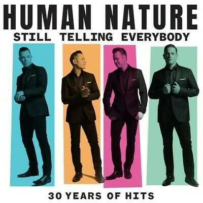 HUMAN NATURE Still Telling Everybody: 30 Years Of Hits (PERSONALLY SIGNED) 2CD