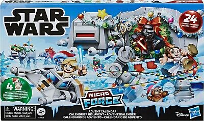 Star Wars NEW * Micro Force Advent Calendar * The Rise of Skywalker