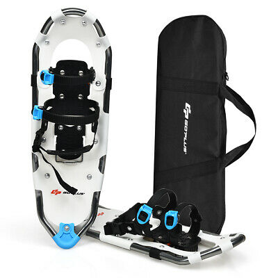 "30"" All Terrain Snow Shoes Lightweight Aluminum w/ Adjustable Ratchet Bindings"