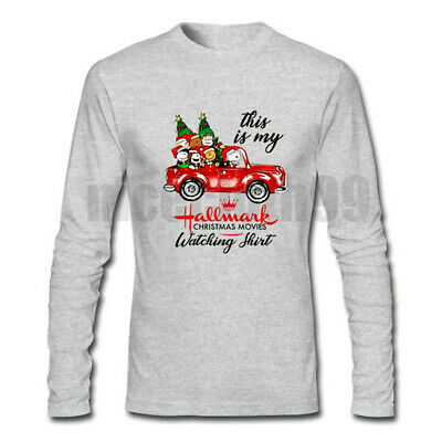 HOT This is My Hallmark Christmas Watching Movie T shirt Grey Long Sleeve Unisex
