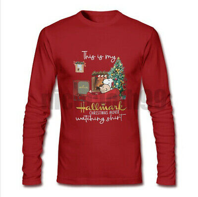 HOT This is My Hallmark Christmas Watching Movie T shirt Red Long Sleeve Unisex