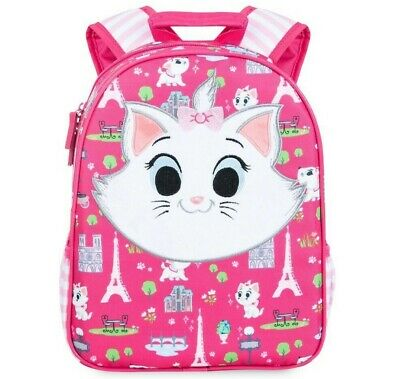 Disney Store •	Marie Backpack for Kids Pink NEW with Tags