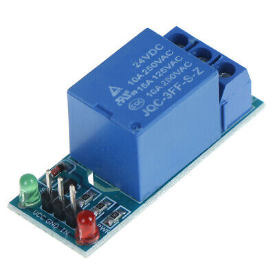 1 channel 24v relay module board shield for arduino with optocoupler SN