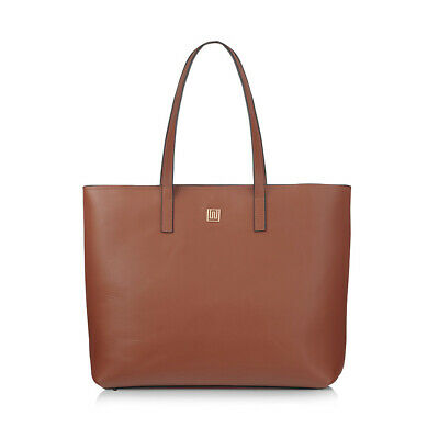 NEW Tan Leather Tote Women's by NIKKI WILLIAMS