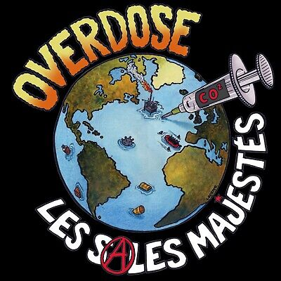 Cd Les Sales Majestes Overdose Nouvel Album!