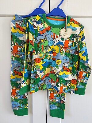 BRAND NEW with tags Little Bird by Jools Oliver pyjamas 4-5 Years fish sea shark