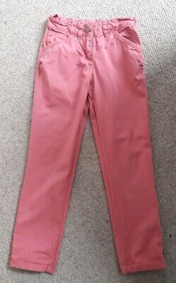 Girls Next pink trousers 9 years