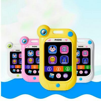 Toy Phone Kids Childrens Baby Educational Toy Learning English Game Screen 01