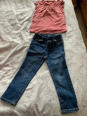 Gap Leggings And Next Top two Piece Outfit age 3 Girls