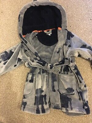 Boys Age 18-24 Months Dressing Gown