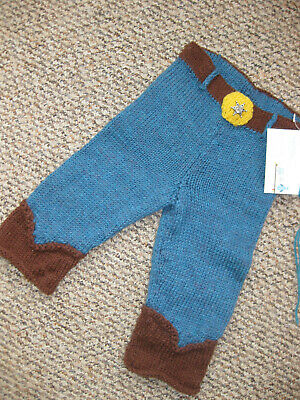 Pure wool longies,trousers,soaker nappy diaper cover,Toy Story,Woody, jeans