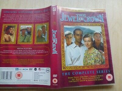The Jewel In The Crown - Complete Series - Dvd - 4 Disc Set