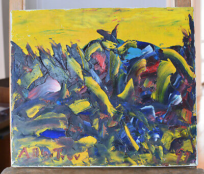 12 x 14 Alban BLUTEAU Listed Artist Original Painting Quebec Oil on Canvas