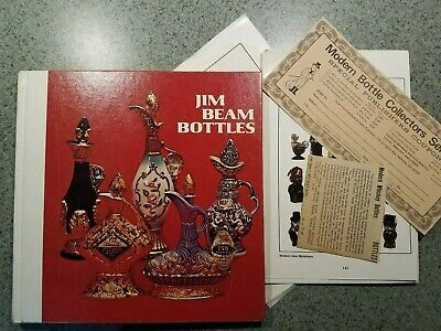 jim beam bottles cembura avery book 1973-74 PRICE GUIDE hardcover seventh