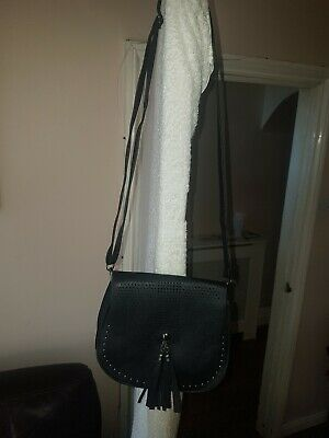 Ladies Black Handbag Cross Body Shoulder Bag Brand New Without Tags Lovely!
