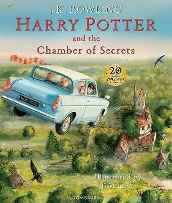 Harry Potter and the Chamber of Secrets: Illustrated Edition (Harry Potter Illus