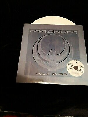 "Magnum - Days Of No Trust 12"" White Vinyl, LIMITED NUMBERED"