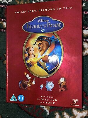 Beauty And The Beast (DVD, 2010, 2-Disc Set, Box Set) Collectors Diamond edition