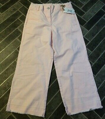 Girls 12 Years NEXT Pink Ankle Length Culotte / Jeans / Trousers - Holiday