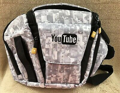 YouTube camera bag – limited edition